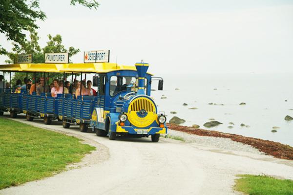 Blågula tåget Visby